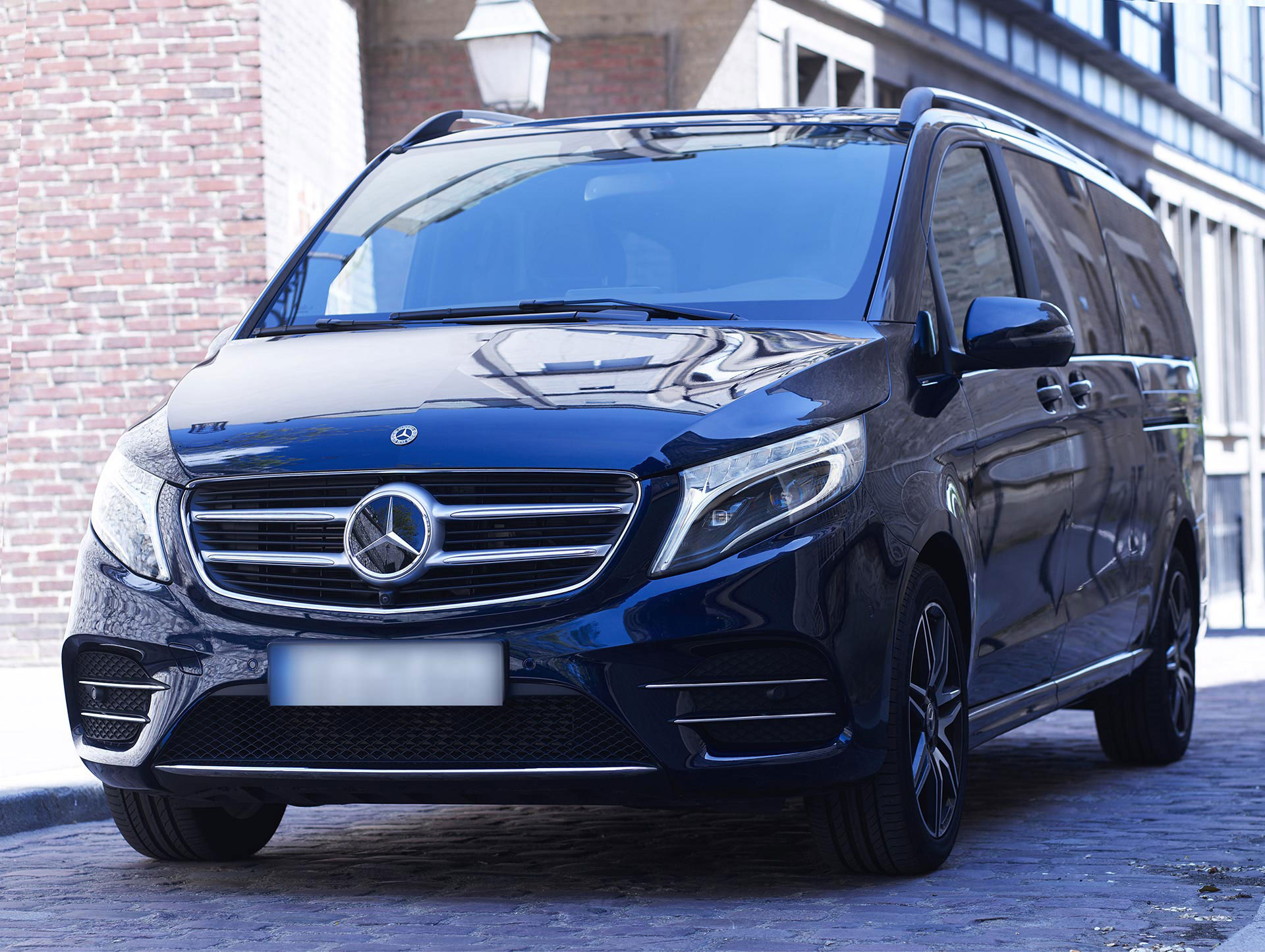 Luxury van rental